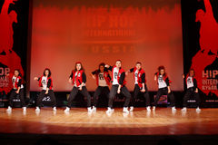 F-team dance at Hip Hop International Cup Stock Photography
