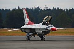 F-16 Thunderbird Στοκ Φωτογραφία