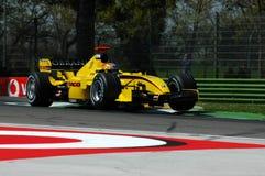 F1 2005 - Tiago Monteiro Fotografering för Bildbyråer