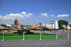 F-5 Tiger Fighter Airplane Fotografia Stock