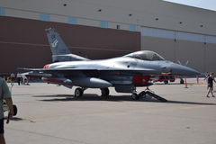 F16. Tinker afb air show Stock Photography