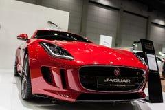 F-tipo cupé de Jaguar Fotos de archivo