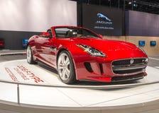 F-tipo 2016 de Jaguar Foto de archivo libre de regalías