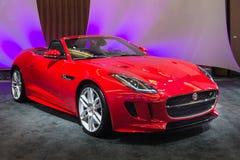 F-tipo 2015 de Jaguar Imagenes de archivo