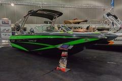 F24 Tomcat MB łódź na pokazie fotografia royalty free