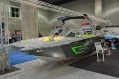 F22 Tomcat MB łódź na pokazie zdjęcia royalty free