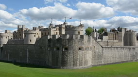 F The Tower of London in City of London, UK