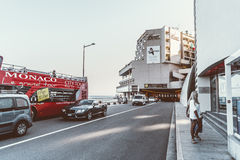 f1 tunel Monaco Obrazy Royalty Free