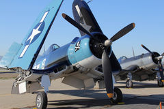 F4U Corsair on Tarmac Stock Images