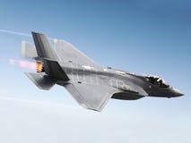 F-35 um relâmpago Imagem de Stock Royalty Free