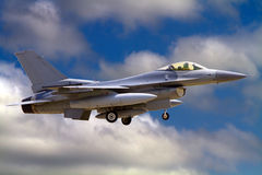 F16 US Air National Guard Jet Stock Photography