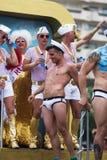 F Vrolijke trotsparade in Sitges Royalty-vrije Stock Foto