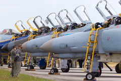 F-4 Wittmund Royalty Free Stock Images