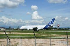 F-WWJB空中客车A380-800 图库摄影