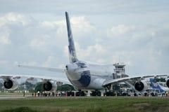 F-WWJB空中客车A380-800 库存图片