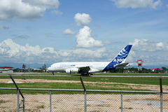 F-WWJB Airbus A380-800 Photographie stock