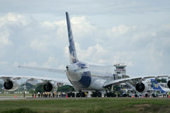 F-WWJB Airbus A380-800 Images stock