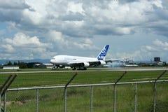 F-WWJB Luchtbus A380-800 Royalty-vrije Stock Foto