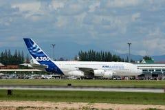 F-WWJB Luchtbus A380-800 Royalty-vrije Stock Fotografie