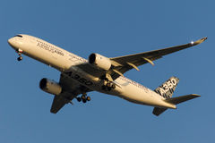 F-WWYB Aerobus A350-941 Obraz Stock