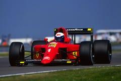 F1 1990 - Alain Prost Ferrari Imagen de archivo libre de regalías