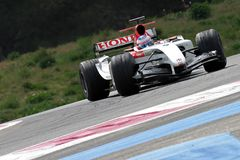 F1 2004 - BARRA de Jenson Button Fotografia de Stock Royalty Free