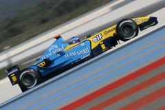 F1 2004 - Franck Montagny Renault Stock Afbeeldingen