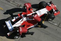 F1 2005 - Jarno Trulli Toyota Images libres de droits
