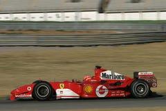 F1 2005 - Michael Schumacher Ferrari Stock Image