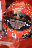 F1 2005 - Michael Schumacher Ferrari Fotos de Stock Royalty Free