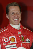 F1 2005 - Michael Schumacher Ferrari Photo stock