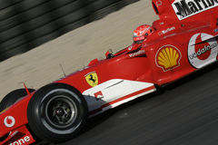 F1 2005 - Michael Schumacher Ferrari Royalty Free Stock Image