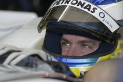F1 2006年-尼克Heidfeld BMW Sauber 库存图片