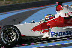 F1 2006年-里卡多Zonta丰田 免版税库存图片