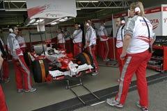 F1 2006年- Jarno Trulli丰田 库存照片