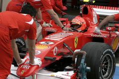 F1 2006 - Майкл Schumacher Ferrari Стоковые Фото