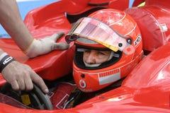 F1 2006 - Майкл Schumacher Ferrari Стоковые Фотографии RF