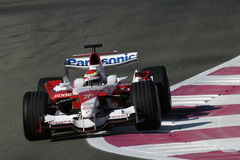 F1 2006 - Рикардо Zonta Тойота Стоковая Фотография