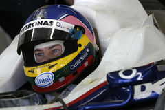 F1 2006 - BMW Sauber de Jacques Villeneuve images stock