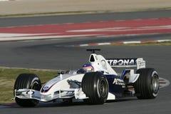 F1 2006 - BMW Sauber Jacques Villeneuve Стоковые Изображения
