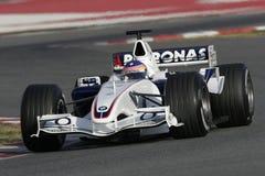 F1 2006 - BMW Sauber Jacques Villeneuve Стоковые Фото