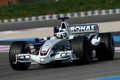 F1 2006 - BMW Sauber Nick Heidfeld Стоковое Изображение