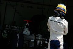 F1 2006 - BMW Sauber van Heidfeld van de Inkeping Stock Afbeelding