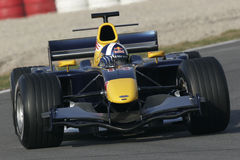 F1 2006 - David Coulthard Red Bull Royalty Free Stock Photo