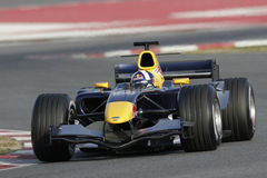 F1 2006 - David Coulthard Red Bull image libre de droits