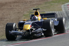 F1 2006 - David Coulthard Red Bull Royalty Free Stock Photography