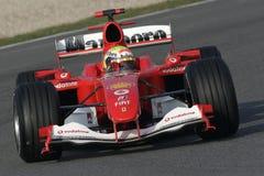 F1 2006 - Felipe Massa Ferrari Fotografering för Bildbyråer