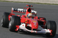 F1 2006 - Felipe Massa Ferrari Stock Photography