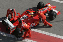 F1 2006 - Felipe Massa Ferrari Royalty Free Stock Photos