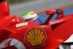 F1 2006 - Felipe Massa Ferrari Stock Images